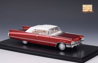 1960 Cadillac Series 62 Convertible Closed Top (Maroon Metallic)