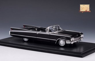 1960 Cadillac Series 62 Convertible Open Top (Black)