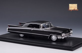 1960 Cadillac Series 62 Convertible Closed Top (Black)