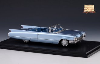 1960 Cadillac Series 62 Convertible Open Top (Lucerne Blue Metallic)
