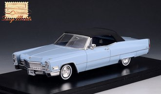 1968 Cadillac Deville Convertible Closed Top (Artic Blue)