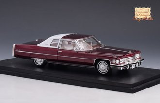 1974 Cadillac Coupe Deville ( Cranberry Metallic)