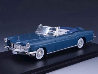 1956 Lincoln Continental Mark II Convertible (Open Top) (Blue)