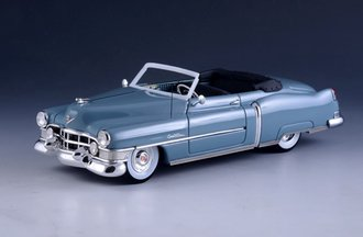 1:43 1951 Cadillac Series 62 Convertible (Open Top) (Corinth Blue)