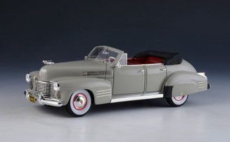 1:43 1941 Cadillac Series 62 Convertible (Open Top) (Light Gray)