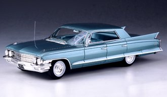 1962 Cadillac Sedan DeVille 4-Window (Turquoise)