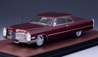 1966 Cadillac Coupe DeVille (Red)