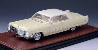 1966 Cadillac Coupe DeVille (Cream)