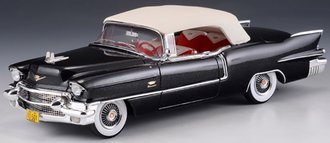 1:43 1956 Cadillac Eldorado Biarritz Convertible (Closed) (Grey)