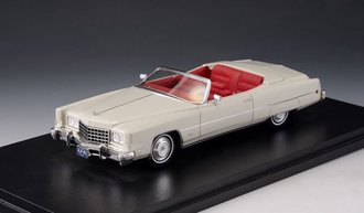1:43 1973 Cadillac Eldorado Convertible (Top Down) (White)