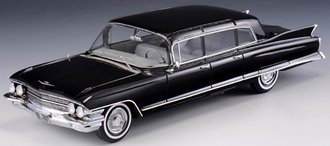 1:43 1962 Cadillac 75 Limousine (Black)