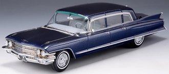 1:43 1962 Cadillac Fleetwood 75 Limousine (Blue Metallic)