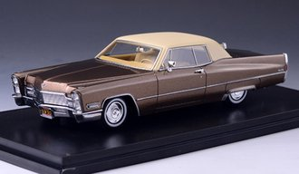 1968 Cadillac Coupe Deville (Chesnut Brown)