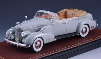 1938 Cadillac V16 Series 90 Fleetwood Sedan Convertible (Open Top) (Grey)
