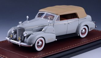 1938 Cadillac V16 Series 90 Fleetwood Sedan Convertible (Closed Top) (Grey)