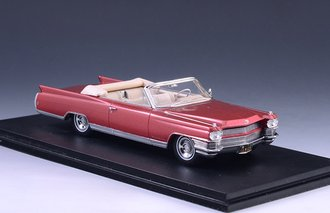 1964 Cadillac Eldorado Convertible Open Top (Light Red Metallic)
