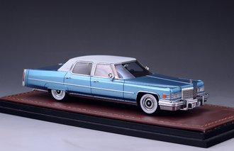 1976 Cadillac Fleetwood Brougham (Crystal Blue)