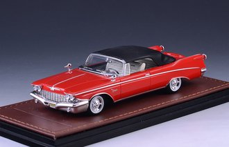 1960 Imperial Crown Convertible Closed Top (Red)