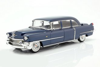 1:18 1956 Cadillac Series 75 (Blue Metallic)