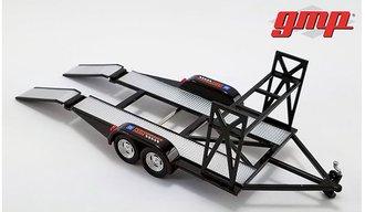 "1:43 Tandem Car Trailer w/Tire Rack ""Chevrolet"""