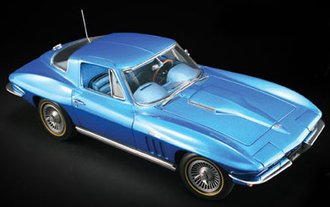 1:18 Masterpiece Series - 1965 Corvette Stingray Hardtop (Blue)