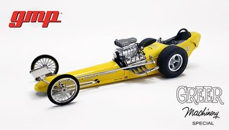 "1:18 Vintage Dragster - Greer Machinery Special ""Prudhomme Dragster"""
