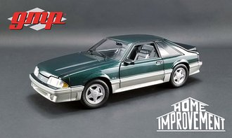 1:18 Home Improvement (1991-99 TV Series) - 1991 Ford Mustang GT (Deep Emerald Green)