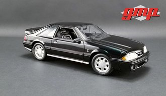 1:18 1993 Ford Mustang Cobra (Black w/Black Interior)