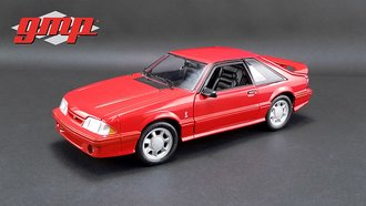 1:18 1993 Ford Mustang Cobra (Red w/Black Interior)