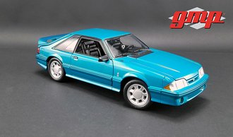 1:18 1993 Ford Mustang Cobra (Teal w/Black Interior)