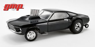 "1:18 1969 Mustang Gasser ""Show Stopper"" (Triple Gloss Black)"