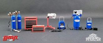 "1:18 GMP - 1:18 GMP Shop Tool Set #1 ""Home Improvement (1991-99 TV Series) Binford Tools"""