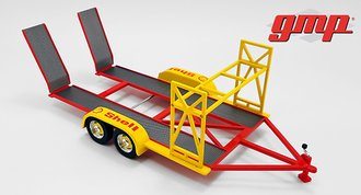 "1:18 Tandem Car Trailer ""Shell Oil"""