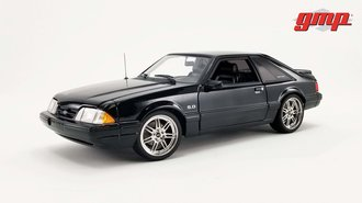 1:18 Detroit Speed, Inc. 1990 Ford Mustang 5.0 (Black)