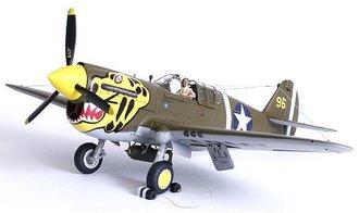 "P-40 Warhawk ""Aleutian Tiger Face"" (1 of 500)"