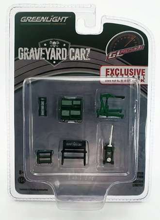 Chase 1:64 Graveyard Carz (2012-Current TV Series) Shop Tools
