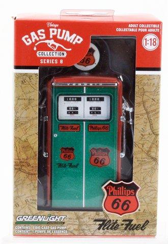 "Chase 1:18 1954 Tokheim 350 Twin Gas Pump ""Phillips 66 Flite-Fuel Sixty-Six"""