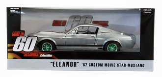 """Chase 1:24 1967 Ford Mustang 'Eleanor' - """"Gone in Sixty Seconds (2000)"""""""