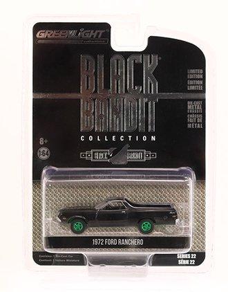 Chase 1:64 Black Bandit Series 22 - 1972 Ford Ranchero