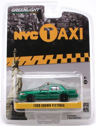 "Chase 1:64 2011 Ford Crown Victoria ""New York City Taxi"""
