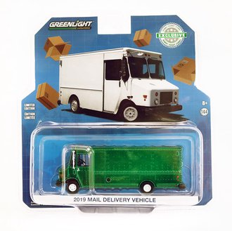 Chase 1:64 2019 Mail Delivery Vehicle  *** GREEN Body ***