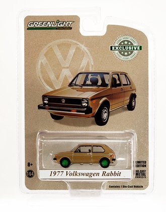 """Chase 1:64 1977 Volkswagen Rabbit """"The Champagne Edition"""""""