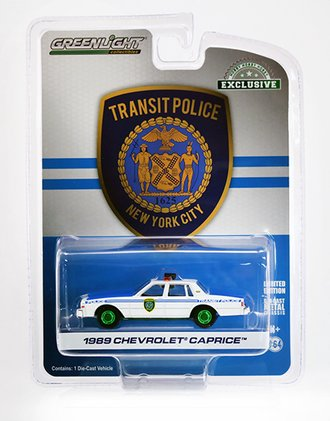 """Chase 1:64 1989 Chevrolet Caprice """"New York City Transit Police Department"""""""