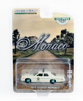 "Chase 1:64 1975 Dodge Monaco ""Hazzard County Sheriff"""