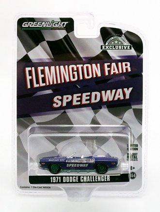 "Chase 1:64 1971 Dodge Challenger Convertible ""Flemington Fair Speedway Official Pace Car"""