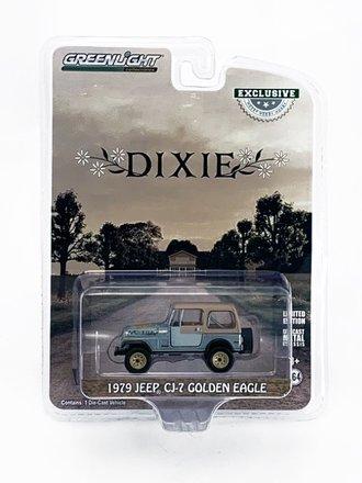"Chase 1:64 1979 Jeep CJ-7 Golden Eagle ""Dixie"" *** RAW Body ***"