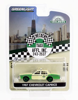 Chase 1:64 1987 Chevrolet Caprice - Chicago Checker Taxi Affl, Inc