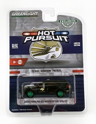 "Chase 1:64 Hot Pursuit - 2020 Ford Police Interceptor Utility ""Texas Highway Patrol"""