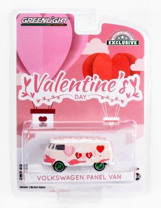 "Chase 1:64 Volkswagen Type 2 Panel Van ""Valentine's Day 2021"""