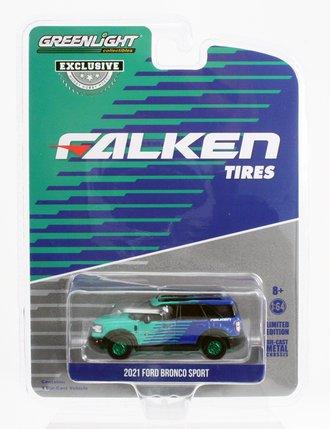 "Chase 1:64 2021 Ford Bronco Sport ""Falken Tires"""